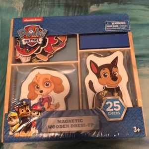 Paw Patrol Other - Paw patrol magnetic wooden dress up box